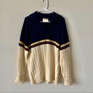 Other - Vintage Pendleton Hudson Bay color block sweater